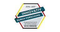 Siegel Innovation durch Forschung